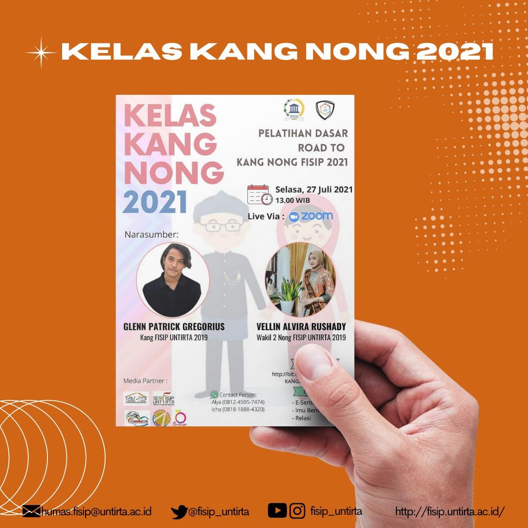 Pelatihan Dasar Road to  Kang Nong FISIP Tahun 2021