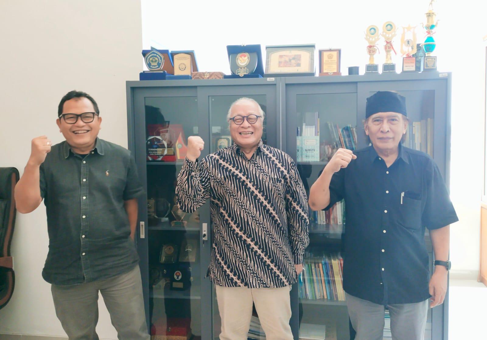 Kunjungan Rektor Universitas Moestopo ke FISIP Universitas Sultan Ageng Tirtayasa tanggal 25 Agustus 2021